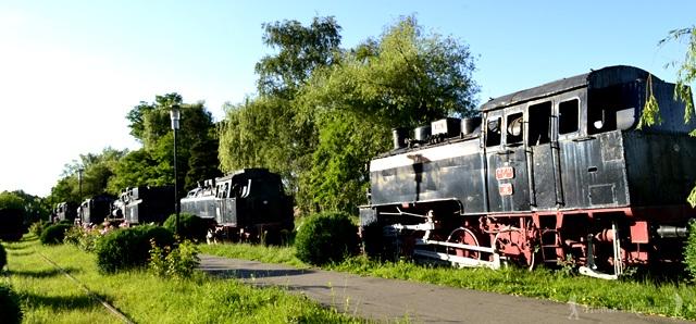 Muzeul Locomotivelor cu abur din Reșița -hoinariromani