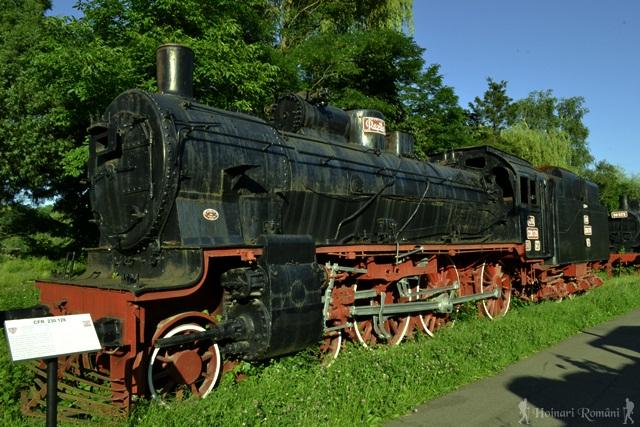 Muzeul locomotivelor cu abur Reșița -hoinariromani