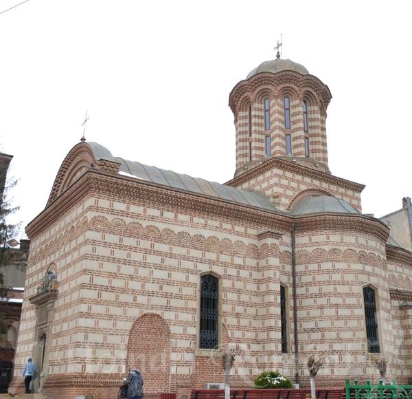 Biserica Sf Anton-prima biserica din Bucuresti