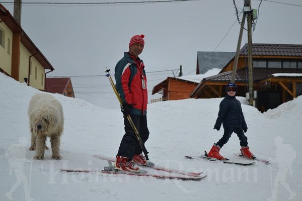 antrenorul de ski şi LAKI