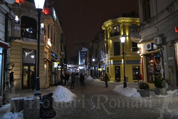 iarna in centru vechi