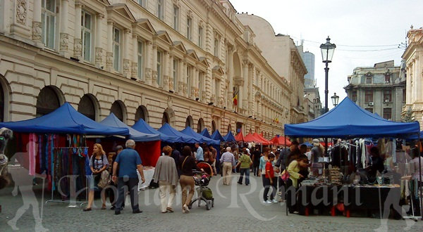 targ vintage si nahdmade in centrul istoric