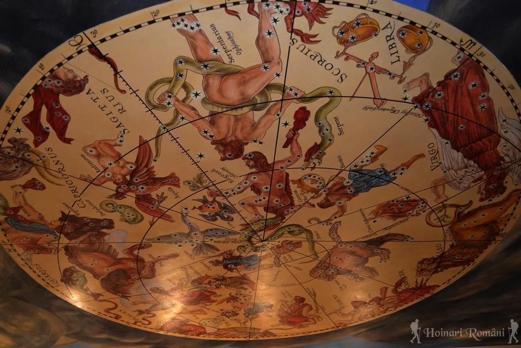 zodiacul pe tavan